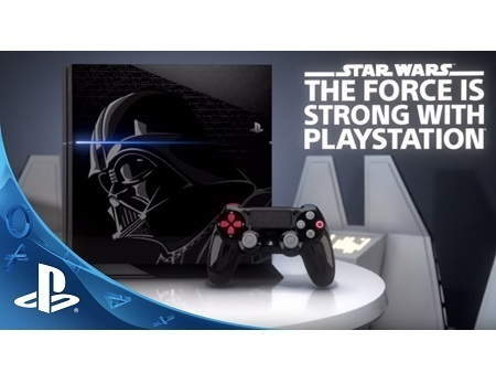PS4 CONSOLE STAR WARS SERIE LIMITEE AVEC UNE MANETTE STAR WARS SOLDE NEUF